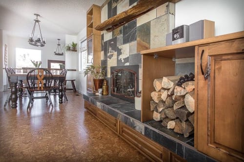Architecture by Iconic Cabinets Inc. seen at Private Residence, Edmonton - Dora
