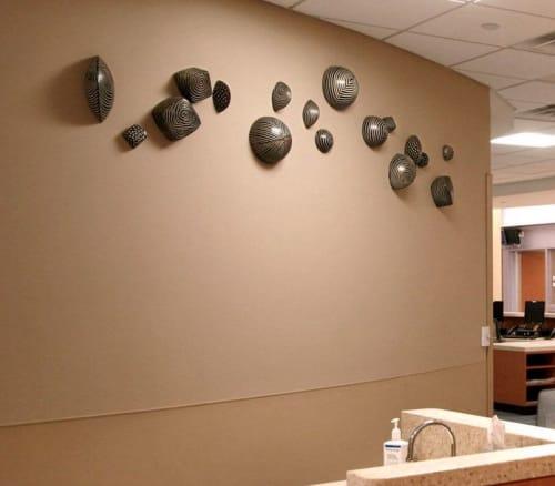 Sculptures by Larry Halvorsen - Mixed Shapes Installation