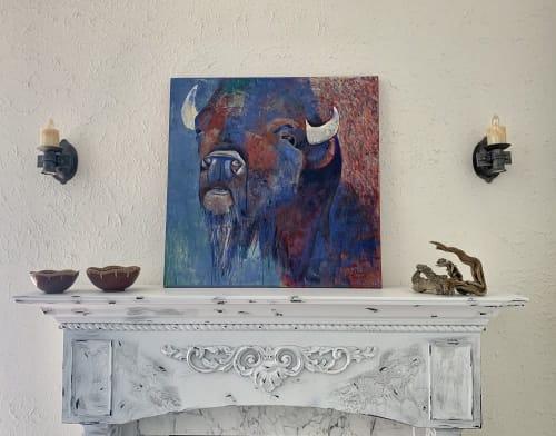 "Paintings by Dara's Fine Art seen at Private Residence, Cedar City - ""Indomitable Spirit"""