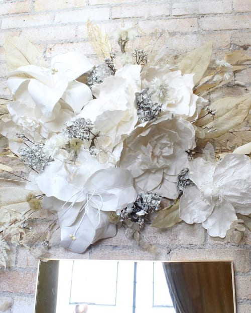 Art & Wall Decor by Emily Barton Design seen at Clad & Cloth Warehouse, Provo - Hanging Dried and Silk Florals