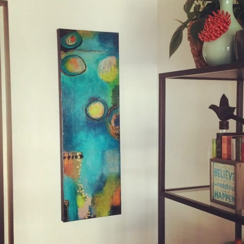 Paintings by Jennifer McHugh seen at Private Residence, San Diego - Detour Ahead