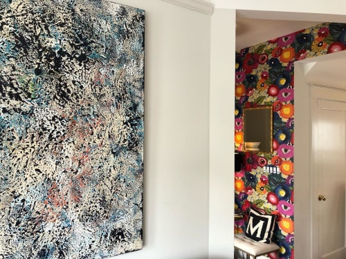 Paintings by Ariel Gold at Private Residence, San Francisco - Step In Time