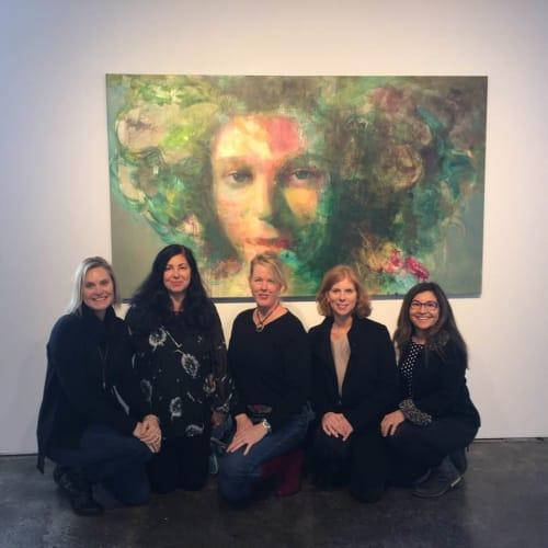 Paintings by Sarupa Sidaarth seen at SFMOMA Artists Gallery, San Francisco - Accord