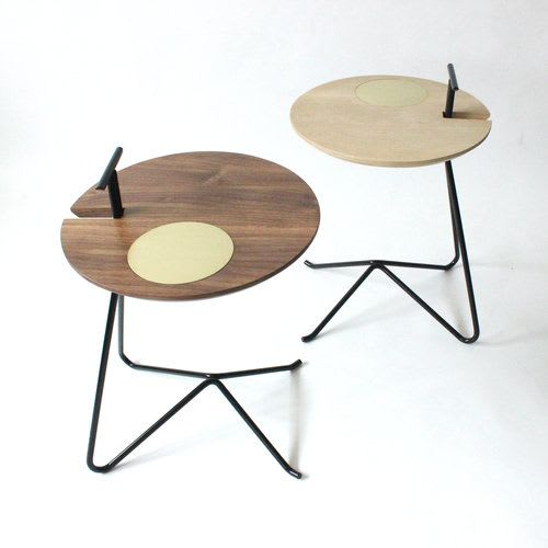 Tables by Roan Barrion seen at Edmonton, Edmonton - Tote Table