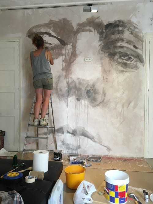 Murals by Laura9, Laura Tietjens seen at Sant Boi de Llobregat, Sant Boi de Llobregat - Suzanne
