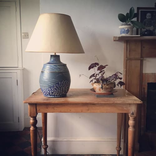 Lamps by Laura Huston seen at Private Residence, Houghton - Stormy lamp