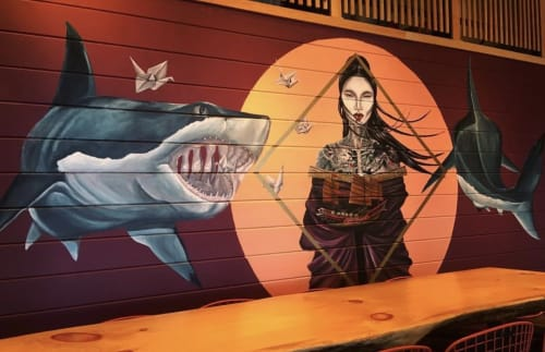 España Garcia - Street Murals and Murals