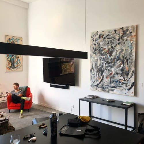 Paintings by Grant McGrath seen at Private Residence, New York - Release 2019