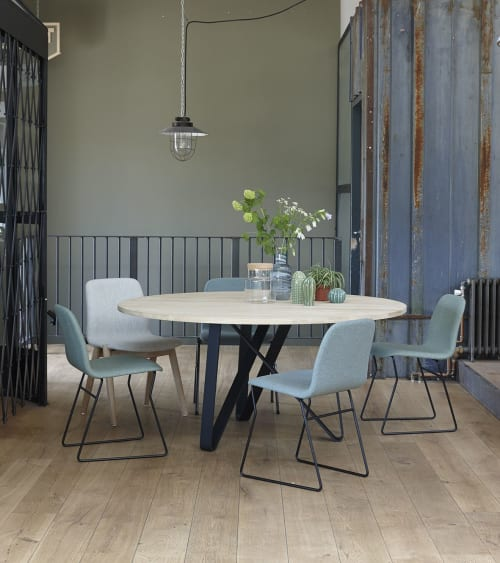 Tables by Marc Th. van der Voorn seen at Private Residence, Waspik - Twister table
