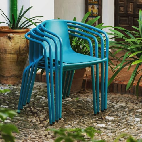 Chairs by OrtegaGuijarro seen at iSiMAR, Noáin - Cadiz outdoor dining chair