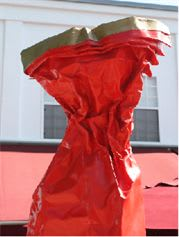Public Sculptures by KevinBoxStudio. seen at City of Whittier Public Works, Whittier - The Dress