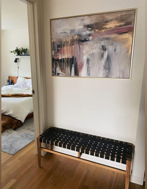 Art Curation by Egle's Paintings seen at Private Residence, New York - Private Apartment in New York