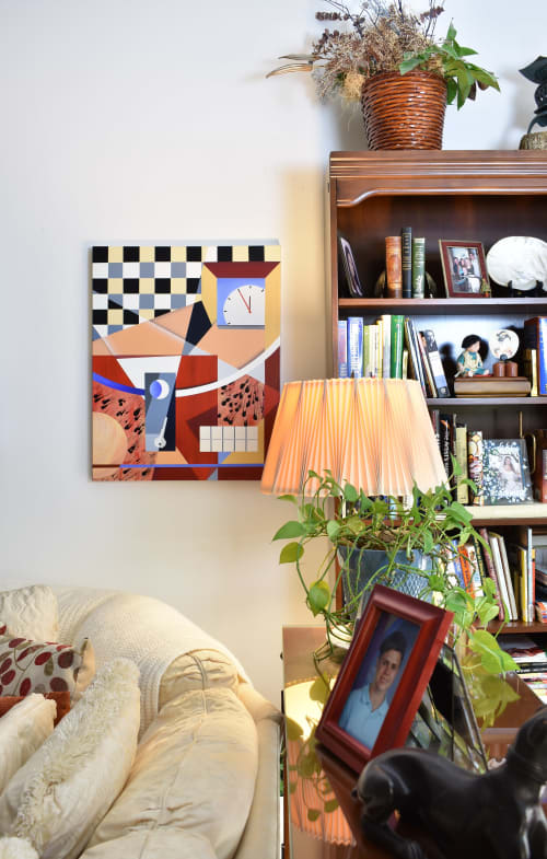 Paintings by Cheryl Eggleston seen at Private Residence, Fort Lauderdale - Truth/Blank Key