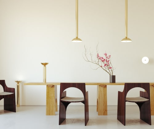Pendants by Ovature Studios seen at Private Residence, London - Rone Pendant