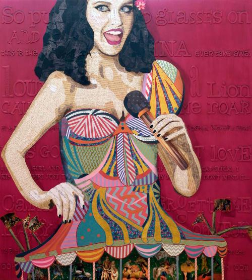 Paintings by Kerri Warner seen at Hard Rock Hotel and Casino Sacramento, Wheatland - Katy