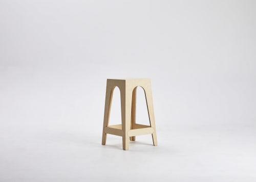 Chairs by Softer Studio seen at Beatrix, North Melbourne - Taller Stool