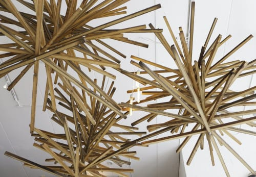 Chandeliers by Stroudfoot Design seen at Gotstyle, Toronto - Custom Chandelier