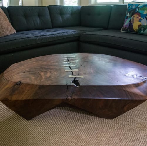 Tables by Joel Sayre at Private Residence, Seattle - Coffee Table