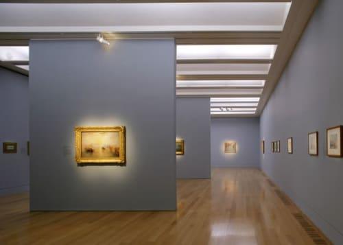 Lighting by David Atkinson Lighting Design (DALD) seen at Tate Britain, London - Lighting