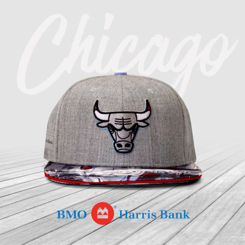 Apparel & Accessories by Madcanvases seen at Chicago Area, Chicago - Chicago Bulls Local Artist Hat Series