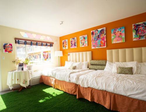 Hotel Del Sol, Hotels, Interior Design