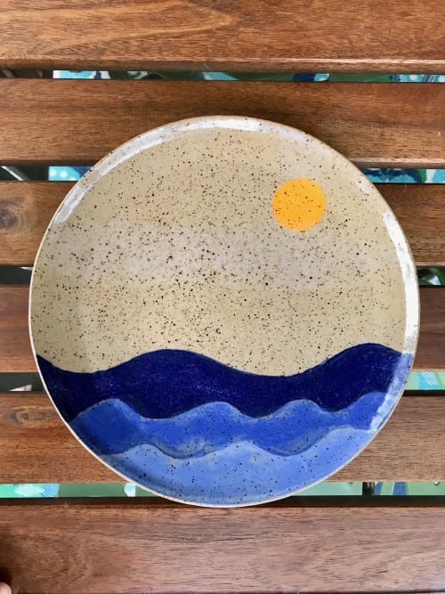 Sun & Seaside, Mountainside Series, handmade stoneware | Cups by Honey Bee Hill Ceramics