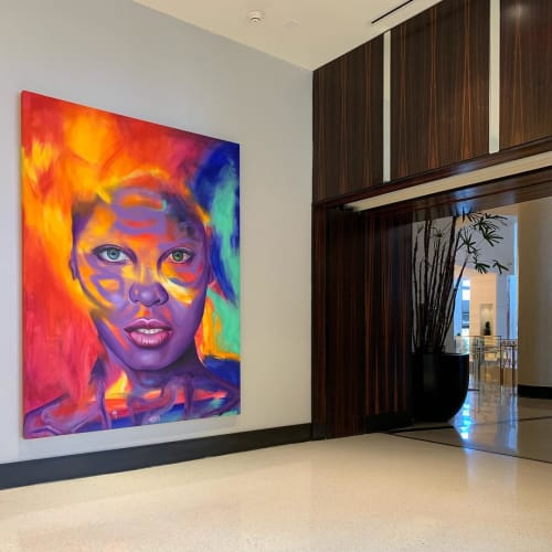 Art Curation by Art Angels Los Angeles seen at Eden Roc Miami Beach, Miami Beach - Art Curation