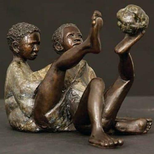 Xhanti Mpakama sculptures - Public Sculptures and Public Art
