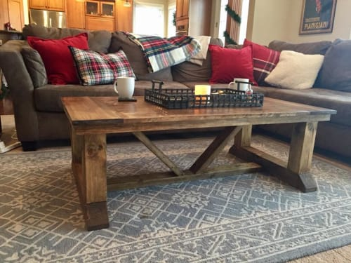 Wisconsin Farmhouse - Tables and Benches & Ottomans