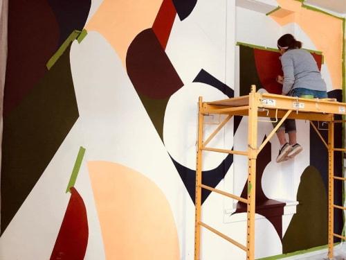 Murals by Elisa Gomez Art seen at Echo Arts, Bozeman - Echo Arts Mural