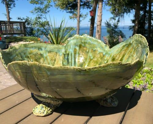 Vases & Vessels by Catharina Goldnau Ceramics seen at Private Residence, Toronto - Ceramic Bowl