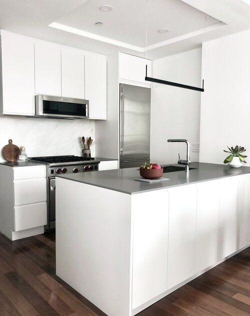 Interior Design by OAD Interiors seen at Private Residence, Brooklyn - McCarren Park Condo Project