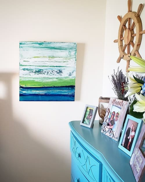 Paintings by Liz Friel seen at Private Residence, Pompano Beach - Closeout