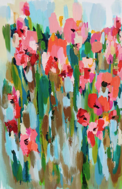 Paintings by Susan Skelley seen at Private Residence, Columbia - CHICK FLICK