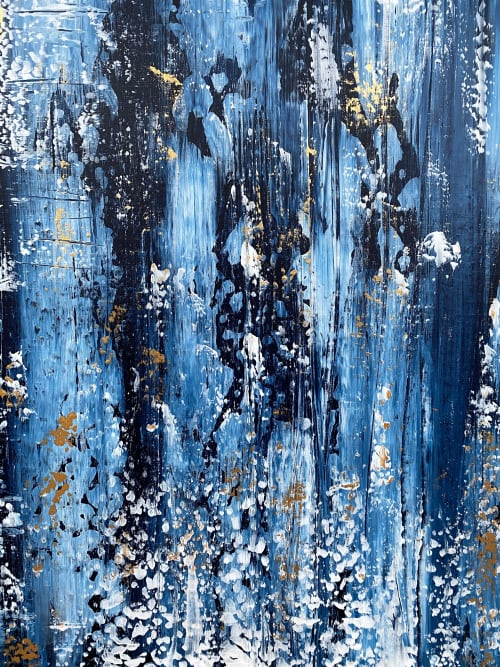 Paintings by Paintingsbymela seen at Private Residence - Enskededalen, Stockholm, Stockholm - 2020 no.1