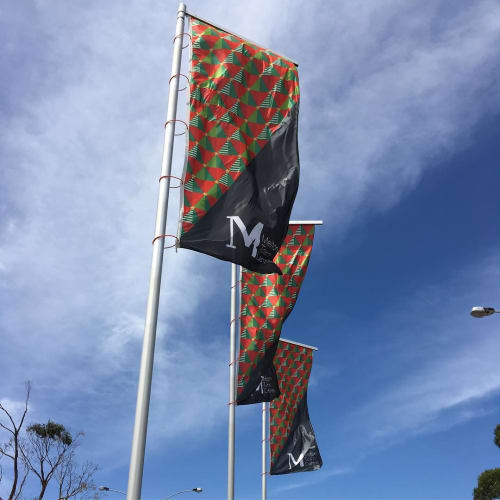 Signage by Studio Tweed seen at Melton City Council, Melton - Banner Design