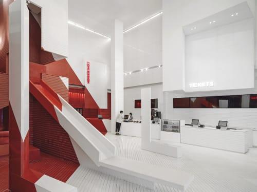 Interior Design by ONE PLUS PARTNERSHIP LIMITED seen at Xian, Xi'an - CHANGJIANG INSUN CINEMA AT XIAN LA BOTANICA CAPITALAND MALL