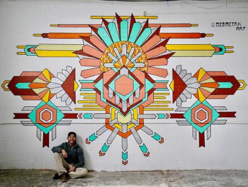 Murals by Zac Campbell seen at Salt Lake City, Salt Lake City - Indoor Mural