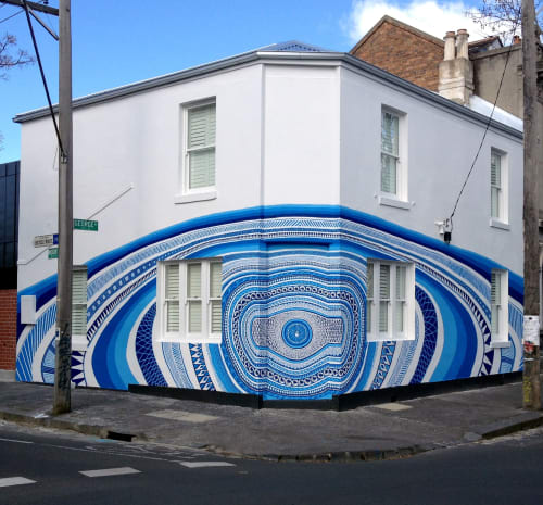 Murals by LUCAS GROGAN seen at Private Residence, Fitzroy - FITZROY HOUSE