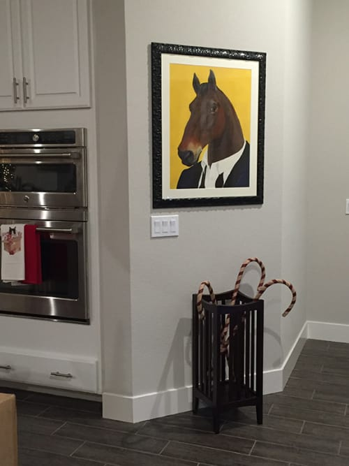 Art & Wall Decor by Jamie L. Luoto seen at Private Residence, Sacramento - Horse