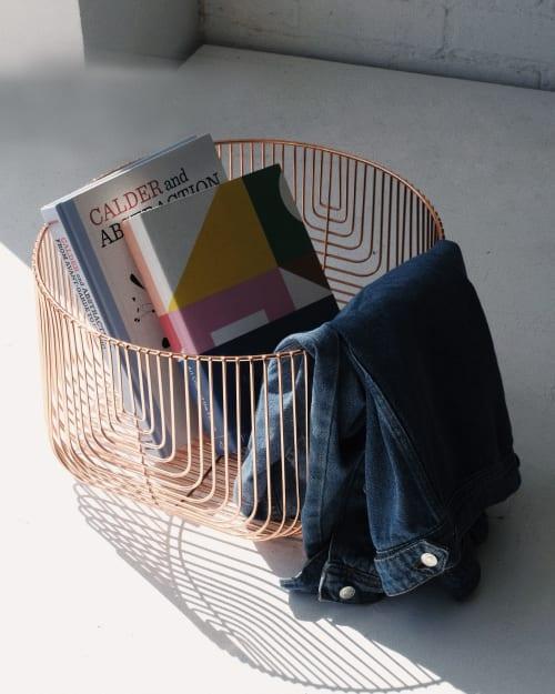 "Furniture by Bend Goods seen at Creator's Studio, Los Angeles - 18"" Basket"