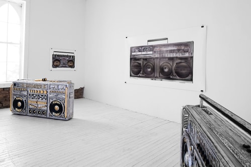 Furniture by Camp Bosworth seen at Wrong Store, Marfa - Boombox