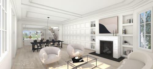 Architecture by Studio NEA Design seen at Private Residence, San Francisco - Architectural and Interior Design