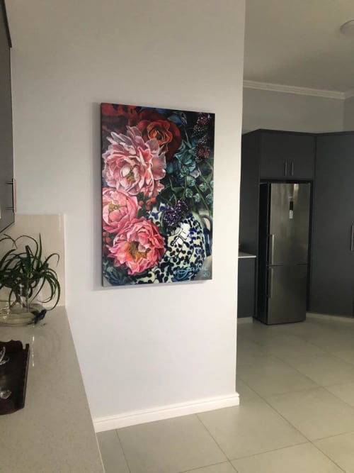 Paintings by Jana Aspeling seen at Private Residence, George - In full bloom