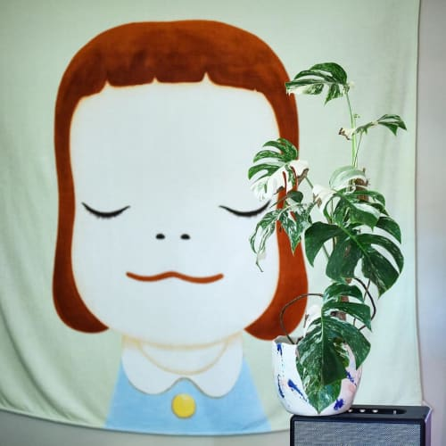 Paintings by Yoshitomo Nara seen at And Their Plant Stories, Seattle - Painting