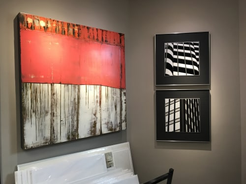 Art & Wall Decor by Heather Hancock seen at Glen Echo, MD, Glen Echo - Reflect 2.0 | Architectural Abstractions