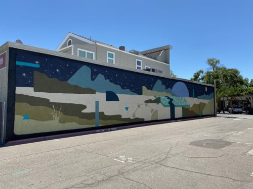 Street Murals by Madeleine Tonzi seen at Livermore Mural Festival, Livermore - A Moment