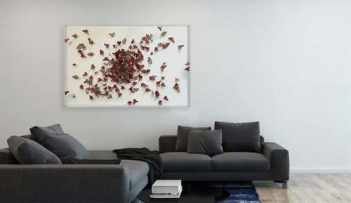 Wall Hangings by Daniel Byrne seen at JW Marriott Grosvenor House London, London - Cluster