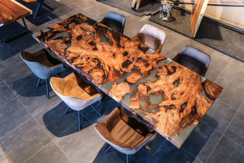 Tables by Unik Living seen at Private Residence - Kauri Table