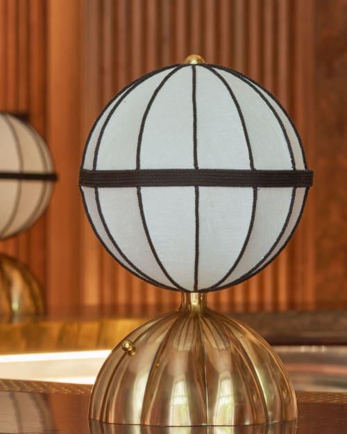 Lamps by Bryan O'Sullivan Studio seen at The Berkeley Bar & Terrace, London - Lamp